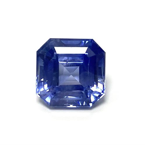 Ceylon Sapphire Emeraldcut 3.84 Cts