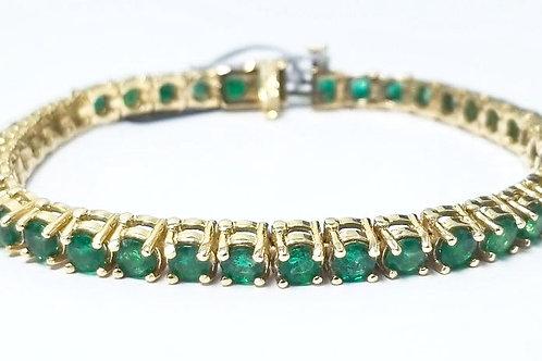 Emerald Bracelet 10.88 cts