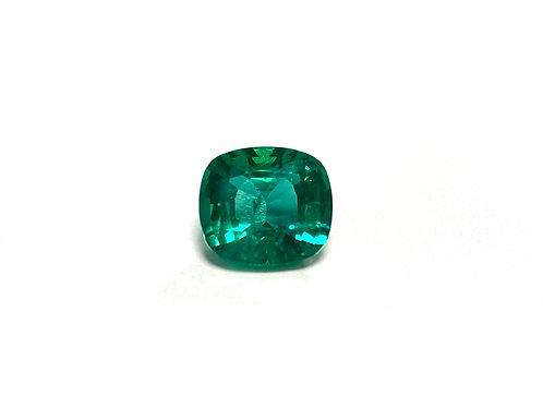 Emerald Cushion 5.99 cts