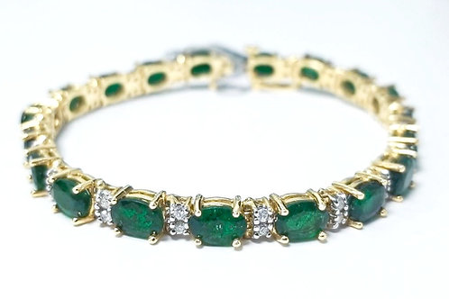 Emerald Bracelet 15.08 cts
