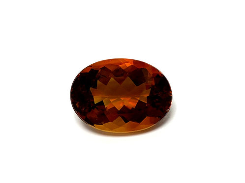 Citrine Oval 21.60 cts