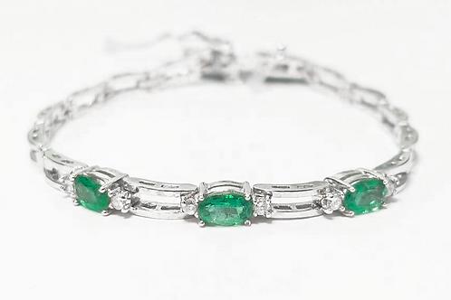 Emerald Bracelet 1.21 cts