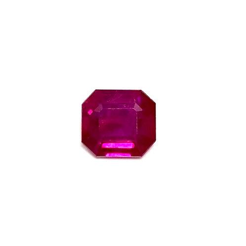 Ruby Emeraldcut 1.05 cts
