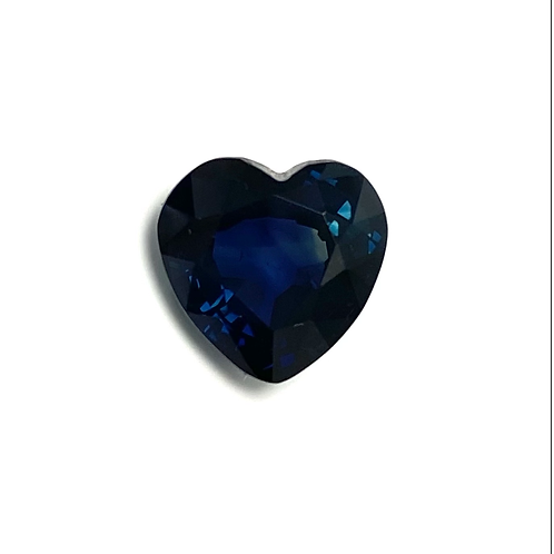 Sapphire Heart 3.86 Cts