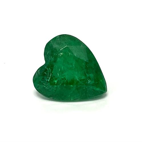 Emerald Heart 3.04 Cts