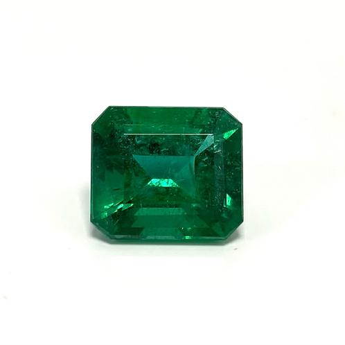 Emerald Emeraldcut 5.69 Cts