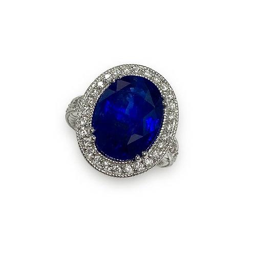 Ceylon Sapphire Oval Ring 11.33 cts