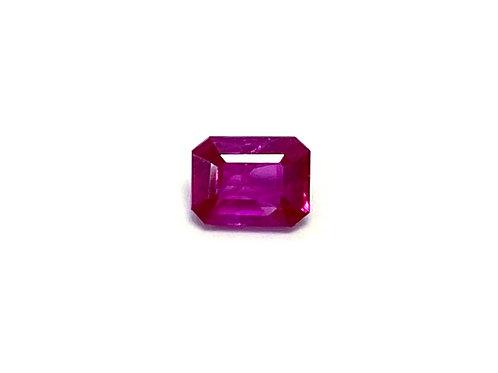 Ruby Emeraldcut 0.32 cts