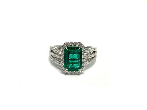 Emerald Emeraldcut 1.82 cts