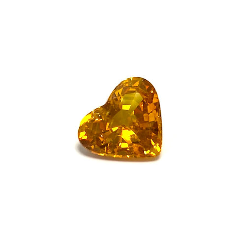 Sapphire Heart 2.54 cts