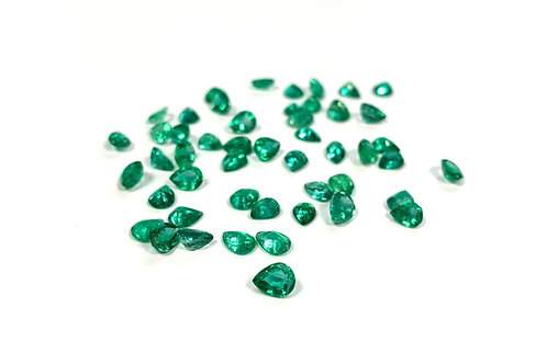 Emerald Pear 0.75 cts