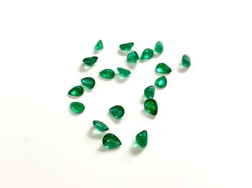 Emerald Pear 0.2 cts