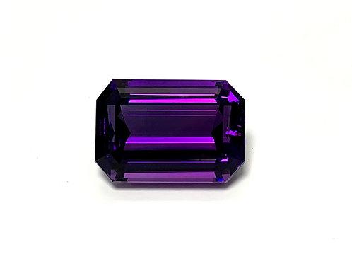 Amethyst Emeraldcut 41.96 cts