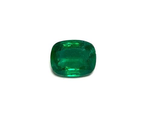 Emerald Cushion 7.10 cts