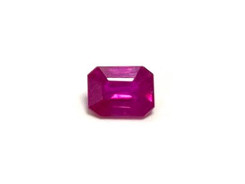 Ruby Emeraldcut 0.43 cts