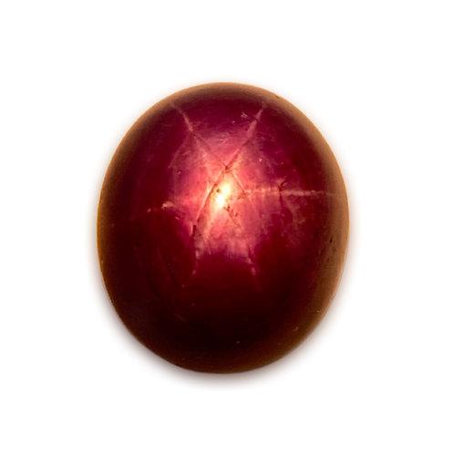 Natural Ruby Star 12.10 Cts