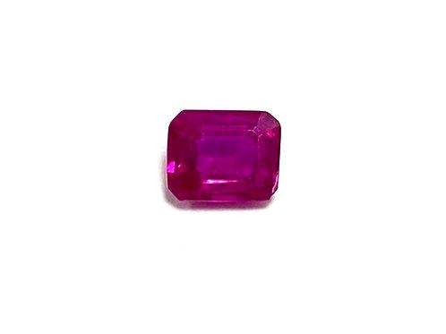 Ruby Emeraldcut 0.36 cts