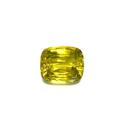 Chrysoberyl Cushion 9.91 cts