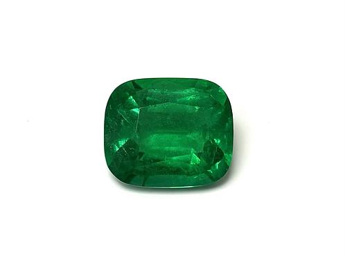 Emerald Cushion 6.56 cts