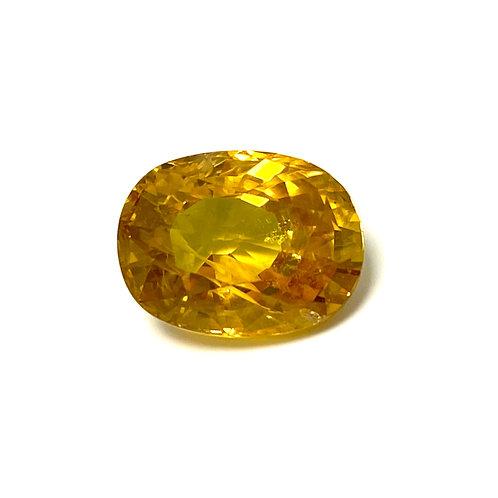 Yellow Sapphire Cushion 5.68 Cts