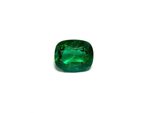 Emerald Cushion 6.06 cts