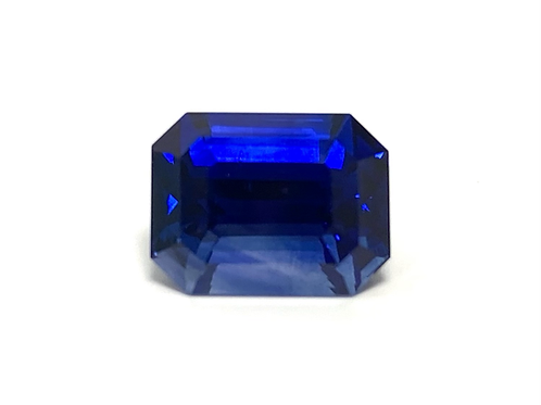 Ceylon Sapphire Emeraldcut 6.13 Cts