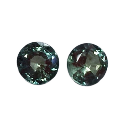 AA Quality Alexandrite Round Pair 4 mm