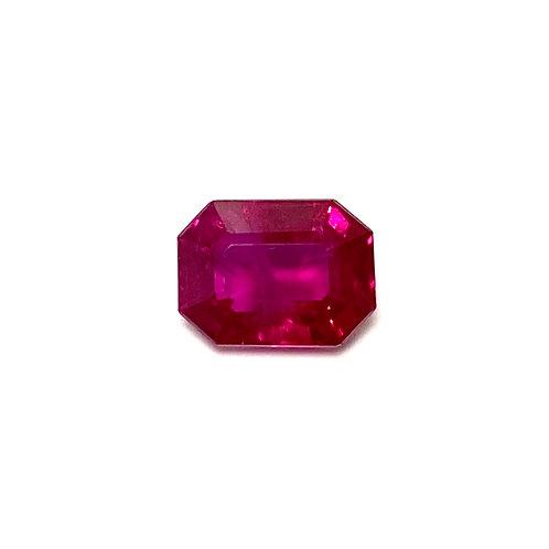 Ruby Emeraldcut 1.13 cts