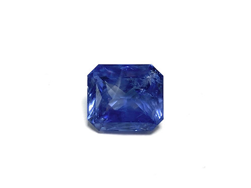 Sapphire Emeraldcut 10.42 CT