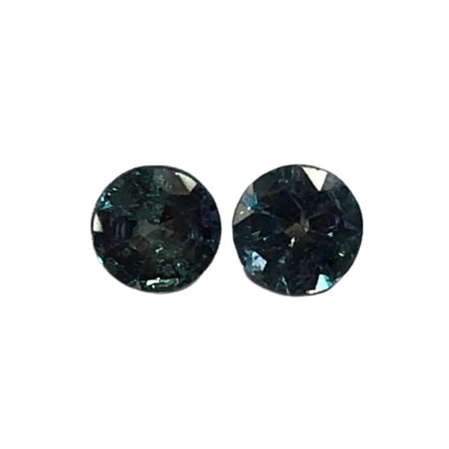 AAA Quality Alexandrite Round Pair 4 mm Approx. 0.40 cts