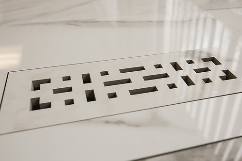 Floor Vent Cover 3x10 with Pattern Slots