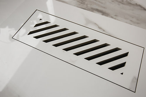 Floor Vent Cover 3x10 with Diagonal Slots