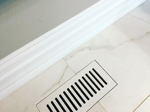 Floor Vent Cover 4x10 with Standard slots