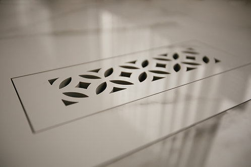 Floor Vent Cover 3x10 with Fancy Slots