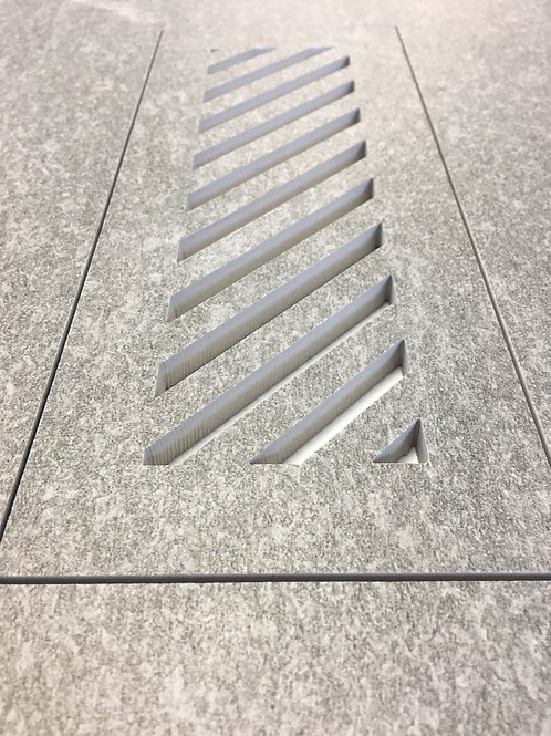 Floor Vent Cover 4x10 with Diagonal Slots