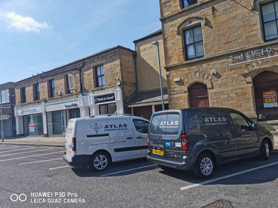 A very busy end of the week for Atlas Environmental.....