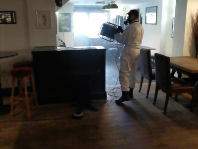 July 4th Sanitisation and Disinfection.....