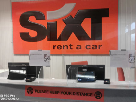 ULV Fogging Throughout the UK to protect staff from Covid-19, Sixt Car Hire....