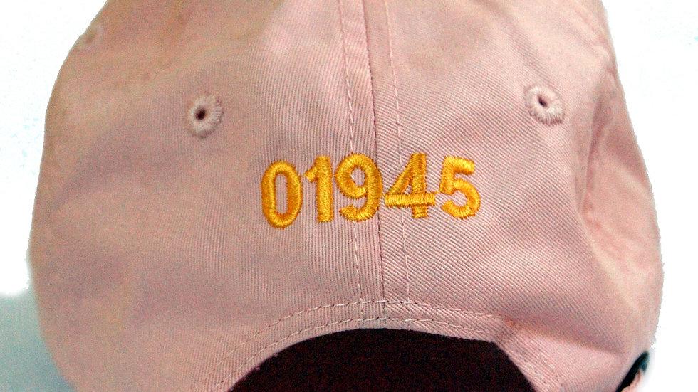 '01945' Pink Hat