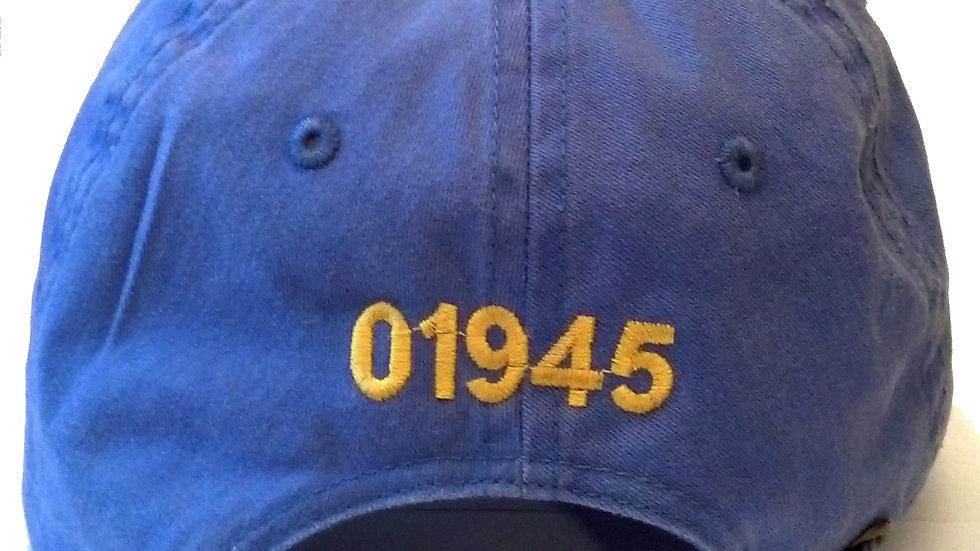 '01945' Dark Blue Hat