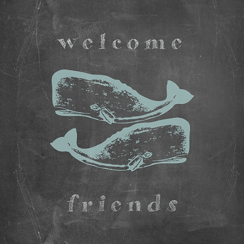 """""""A Whale of a Welcome"""""""