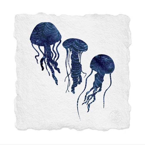 Shibori Jellyfish