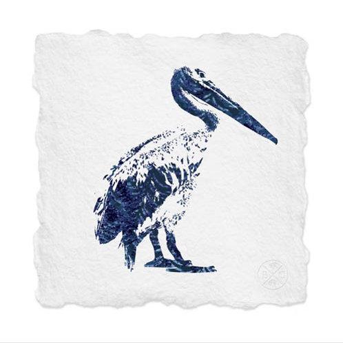 Shibori Pelican