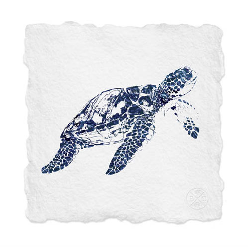 Shibori Sea Turtle