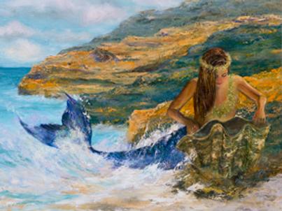"""Mermaid of Great Issac Cay"""