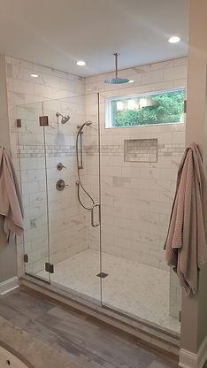 custom shower, hinckley oh