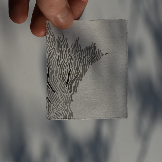 Lost at Sea - Small Artwork