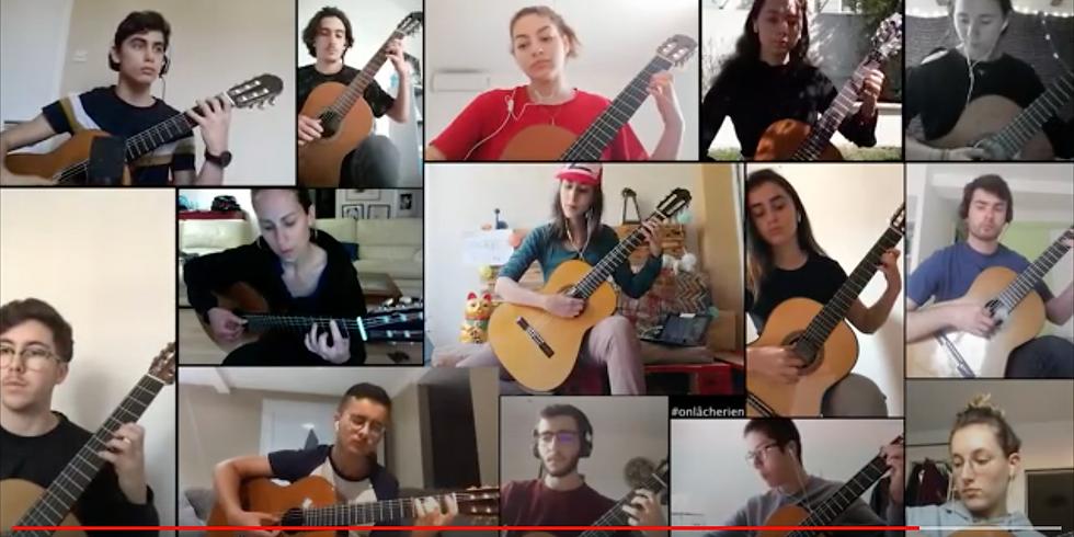 Guitares & Co mobilisé pendant son confinement