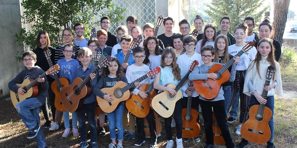 Concert Partagé avec la participation de Guitares & Co Junior!