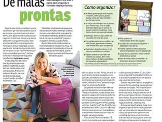 Lala Organizer na Revista da Hora do Jornal Agora SP!